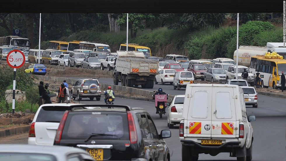 Road accidents are a huge problem on Nairobi's busy roads.