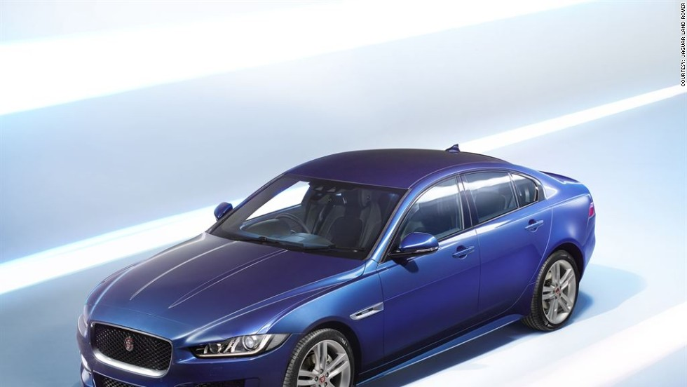 The Jaguar XE is the most fuel-efficient Jaguar yet, thanks to its lightweight construction.