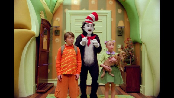 """The Cat in the Hat"": Dr. Seuss' beloved children's book inspired a less-beloved, live-action 2003 movie with Mike Myers as the titular feline. To pad the slender book into a feature-length film, its creators added potty humor and subplots, including one with Alec Baldwin as a weaselly neighbor."