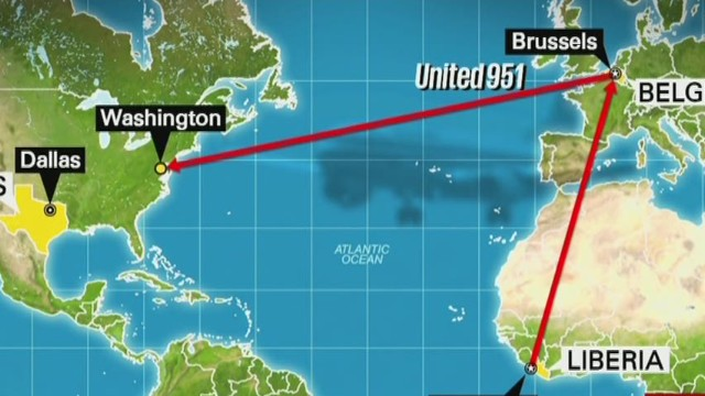 Tracking the travel of Ebola patient