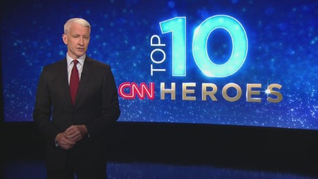 "Anderson Cooper will reveal CNN's Top 10 Heroes for 2015 Thursday morning on CNN's ""New Day."""