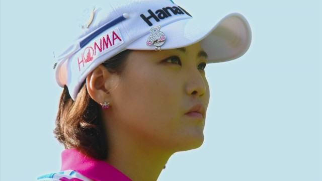 Asian players shake up women's golf