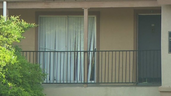 The Dallas apartment where Louise and her relatives are quarantined.