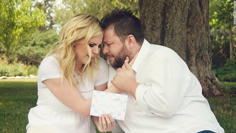 "Looking back on the day of the ultrasound shock is a happy memory for the pair. It was the ""best day of our lives,"" Ashley Gardner said. ""I still cry when I look at these"" photos."