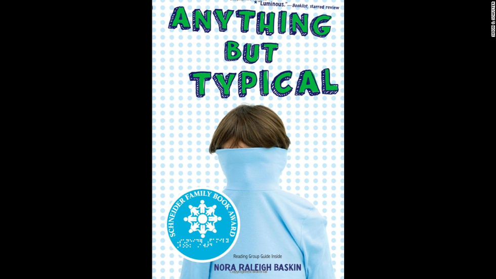 """Anything But Typical"" is told from the perspective of 12-year-old Jason Blake, who has high-functioning autism. Jason is happy to make a new friend, Rebecca, on an online writing forum called Storyboard but begins to stress over the possibility of interacting with her in person."