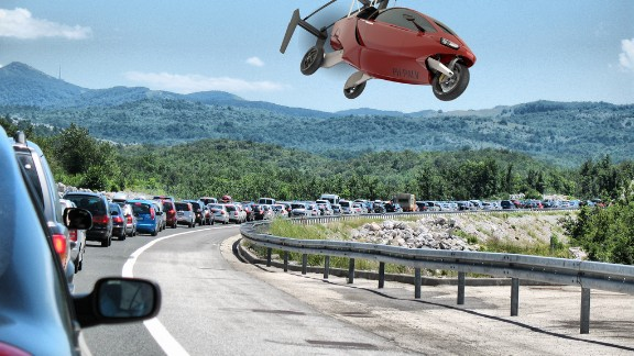 The gyrocopter cruises below 4,000ft and needs 540 feet of runway for take-off and 100 feet to land. The MyCopter project is looking at a design that can lift itself out of traffic with very little headway.