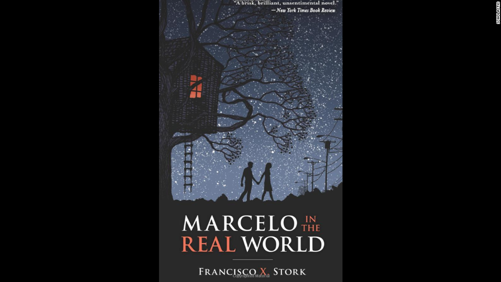 "In ""Marcelo in the Real World,"" 17-year-old Marcelo Sandoval has Asperger's syndrome, hears music in his head and is obsessed with religion. But Marcelo's father pushes him to work in the mail room of a law firm, even though he has to deal with people trying to take advantage of him. The book is the winner of the 2010 Schneider Family Book Award, which honors authors or illustrators whose books embody ""an artistic expression of the disability experience for child and adolescent audiences."""