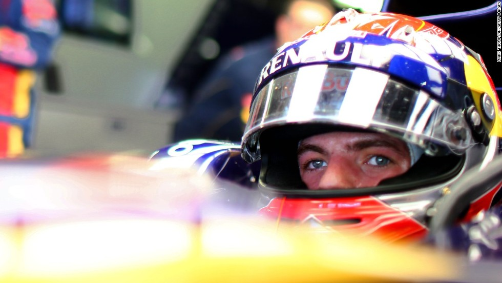 The 17-year-old drove for the Toro Rosso team during Friday practice at the Suzuka Circuit, despite being too young to hold a driver's license in his native Netherlands.