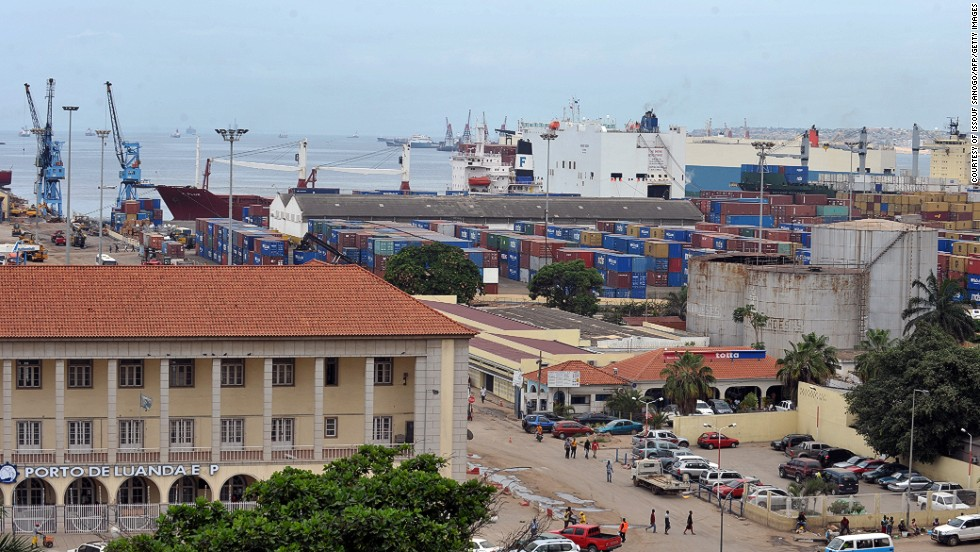 Port Luanda in Angola was the seventh busiest on the continent last year, with a capacity of 913,000 TEU.