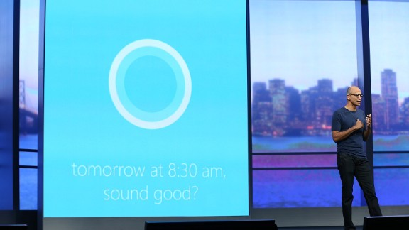 Microsoft are entering the VA field with the launch of Cortana.
