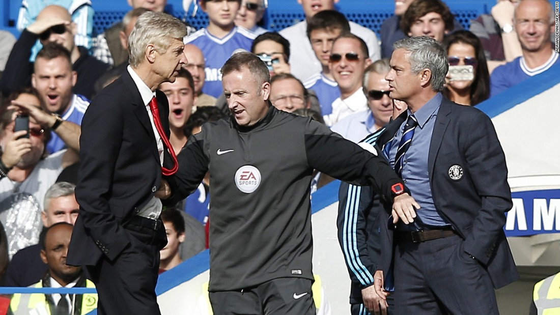 """It is a problem inside the club that if you are not united it is more difficult,"" Arsenal manager Arsene Wenger, who has clashed with Mourinho on numerous occasions in the past, said of the incident. ""It is the trust and unity that makes the strength."""