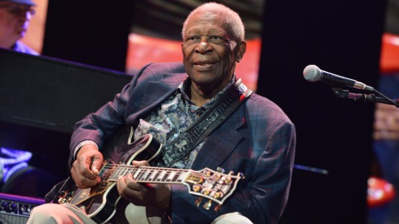 B.B. King performs during the April 2013 Crossroads Guitar Festival at New York City