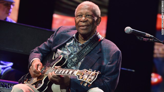 NEW YORK, NY - APRIL 12:  B.B. King performs on stage during the 2013 Crossroads Guitar Festival at Madison Square Garden on April 12, 2013 in New York City.  (Photo by Larry Busacca/Getty Images)