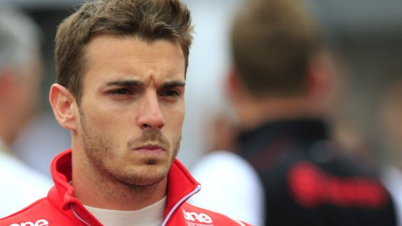 Jules Bianchi is regarded as one of Formula One's most promising young drivers.