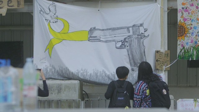 Art bursts from Hong Kong protests