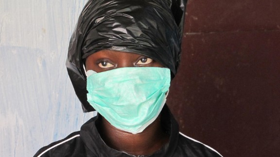 Fatu Kekula, a 22-year-old nursing student in Kakata, Liberia, spent weeks single-handedly caring for her father, mother, sister and cousin when they became ill with Ebola. Three of her four relatives survived and Kekula somehow avoided contracting the virus herself.