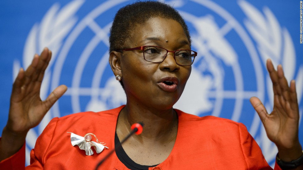 Valerie Amos, the United Nations under-secretary-general for humanitarian affairs and emergency relief coordinator, has been leading the U.N.'s response to the outbreak.