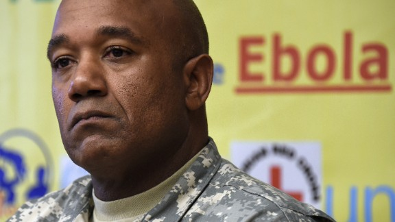 """Maj. Gen. Darryl Williams is commander of the U.S. military's <a href=""""http://www.cnn.com/2014/09/16/health/obama-ebola/"""">Operation United Assistance</a> in West Africa. The U.S. will be sending around 3,600 troops to the region to help fight the Ebola outbreak."""