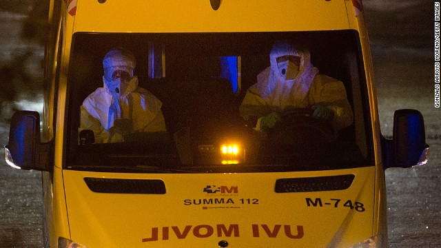 Spain monitors three possible Ebola cases