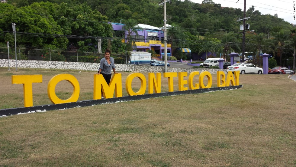 Pereira recently traveled to Montego Bay, Jamaica, to trace her roots.