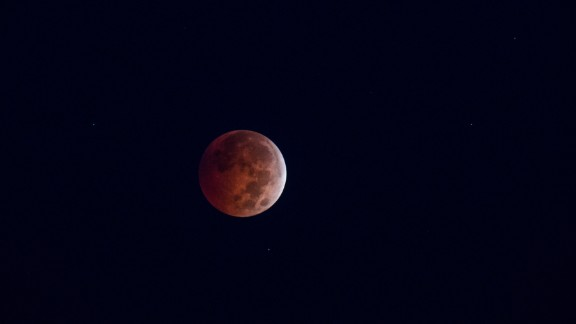 Brian Greenberg enjoys doing astrophotography and captured the blood moon in Victor, New York.