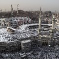 Hajj crowds Mecca grand mosque