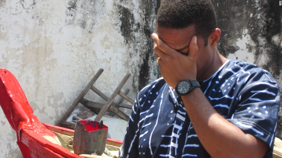 CNN's Don Lemon is overcome with emotion after passing through Ghana's Door of No Return. This was the last place natives walked on their homeland before boarding slave ships bound for America.