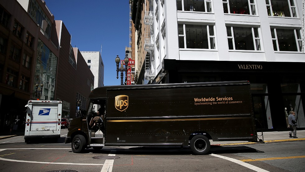 Delivery firm UPS have invested $1bn per year monitoring it's trucks. By gathering data about the various journeys taken, UPS can work out the quickest and most efficient delivery routes.