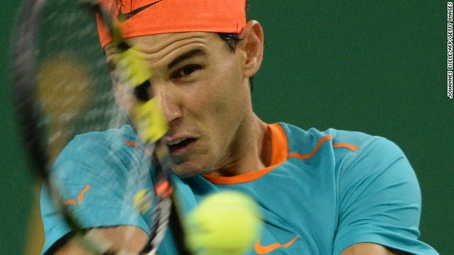 Rafael Nadal opted to play in Shanghai Masters despite being diagnosed with appendicitis by doctors in the Chinese city.