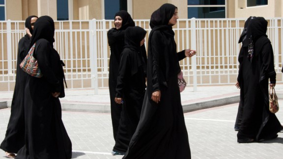Niqab is usually accompanied by the abaya, a long, loose black robe.