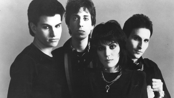 """Joan Jett and the Blackhearts hit the big time with 1981's """"I Love Rock 'n' Roll."""""""
