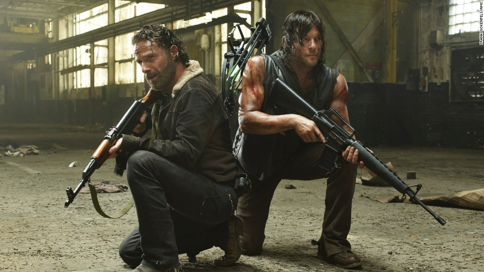 "AMC's ""The Walking Dead"" got the comics-on-TV trend going in 2010, and it's now <a href=""http://www.tvguide.com/news/most-watched-shows-2013-2014-1082628.aspx"" target=""_blank"">one of the top five most-watched shows on TV.</a> It recently kicked off its fifth season."