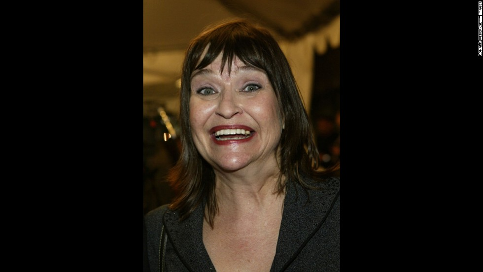 "Actress and comedian <a href=""http://www.cnn.com/2014/10/09/showbiz/comedian-actress-jan-hooks-dies/index.html?hpt=hp_t2"">Jan Hooks</a> died in New York on October 9. Her representative, Lisa Lieberman, confirmed the death to CNN but provided no additional information. According to IMDb.com, Hooks was 57."