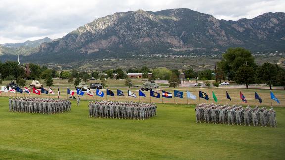 Fort Carson, Colorado.