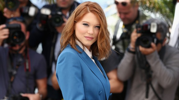 French actress Lea Seydoux, who recently starred in 2013