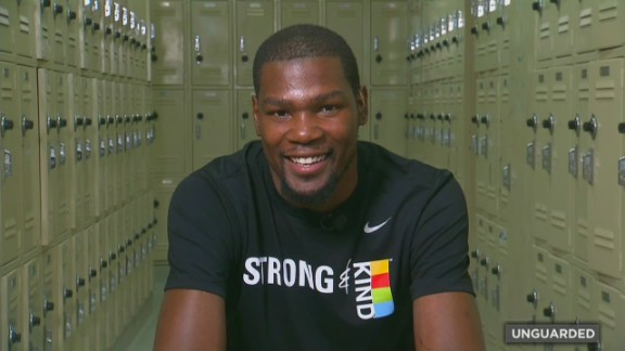 """""""The only thing I wanted to do was to show love to everybody who helped me get to that point,"""" Durant later told CNN. """"I knew it wasn't all (just) me that got there."""""""