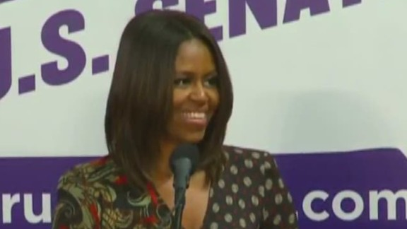 bts First lady messes up name at rally Michelle Obama_00004330.jpg