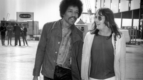 Hendrix was already tired of being a rock star when he died. What musical direction would he have taken had he lived? Some say he would have embraced jazz fusion, others say funk music. The theories are tantalizing. Imagine Hendrix playing with the fusion bassist Jaco Pastorius. Here, Hendrix arrives in London with his tour manager just two weeks before Hendrix
