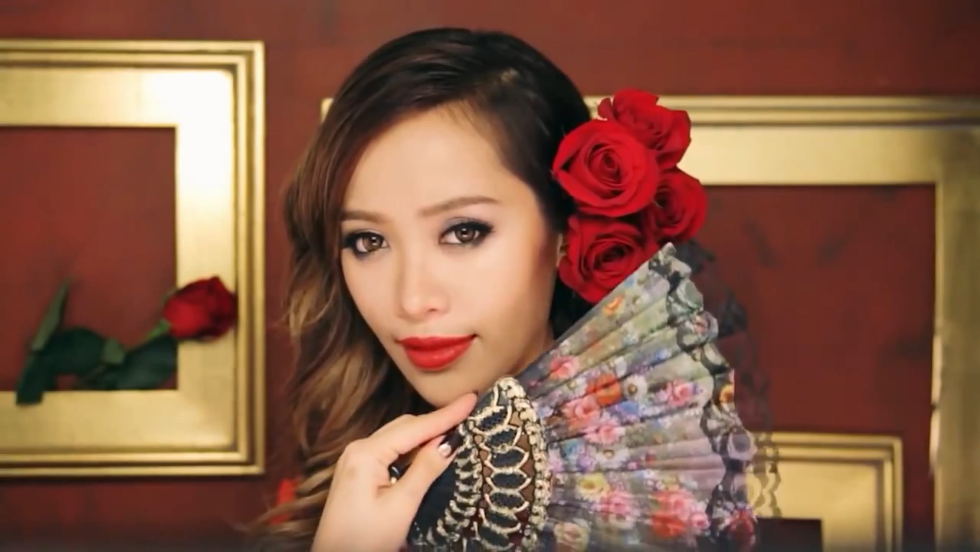 American entrepreneur Michelle Phan is a make-up expert who started out as a humble