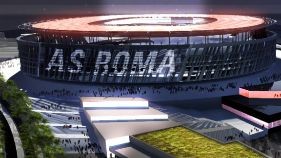 Fans will be able to visit Roma village where there will be a number of bars, shops and restaurants before making their way to the stadium.