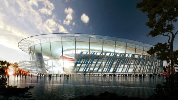 The stadium will be flanked by a new training center which will be used by the first team as well as the youth players.