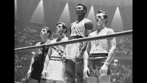 Ali rose to prominence at the 1960 Olympic Games in Rome, where he claimed a gold medal in the light-heavyweight division.