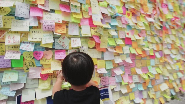 Hong Kong's artistic protests