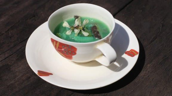 At this year's Frieze Art Fair in London, soup was being cooked and handed out. But this was no ordinary soup. It's an installation by two Japanese artists called The United Brothers, and was made with ingredients from Fukushima. Would you try it?