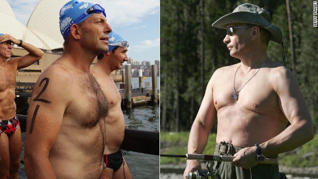 Australia's Tony Abbott and Russia's Vladimir Putin have drawn comparisons not just for their politics.