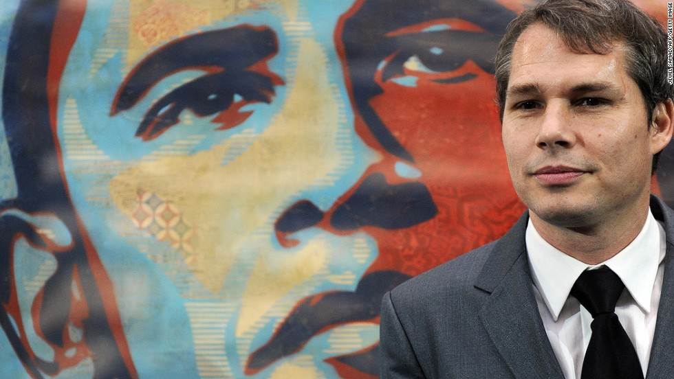 Artist speaks in 2009 about making famous Obama poster