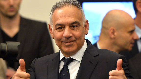 American Pallotta has some ambitious plans for the Italian football club.
