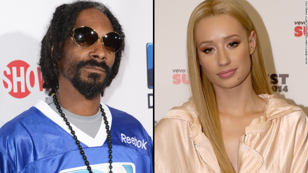 "Snoop Dogg and Iggy Azalea also battled in a very public way. After <a href=""http://www.cnn.com/2014/10/15/showbiz/snoop-iggy-feud/index.html"" target=""_blank"">Snoop made fun of Iggy's appearance on social media</a>, the ""Fancy"" rapper responded with confusion, saying that she didn't understand why Snoop would be ""supportive to my face but another way on your Instagram."""