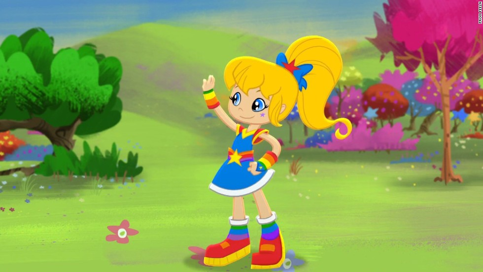 <strong>Then:</strong> More than 30 years ago, Hallmark introduced its color-loving character Rainbow Brite. <strong>Now: </strong>The young heroine who entertained a generation of kids in the '80s is returning as part of an animated original series on Feeln, an on-demand service.