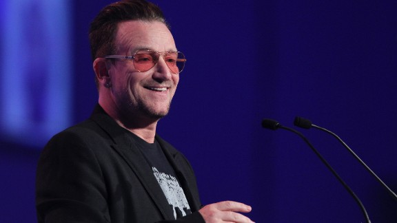 "U2 frontman Bono apologized on behalf of his band after facing a huge backlash for releasing an album for free. It wasn't so much the lack of a price tag that drew ire but the fact that it was automatically downloaded to iTunes users' libraries. ""Might have gotten carried away with ourselves,"" Bono said during an October 2014 Facebook chat. ""Artists are prone to that thing."""